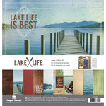 Paper House Productions - Lake Life Collection - 12 x 12 Paper Crafting Kit