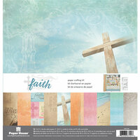 Paper House Productions - Faith Collection - 12 x 12 Paper Crafting Kit