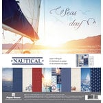 Paper House Productions - Nautical Collection - 12 x 12 Paper Crafting Kit