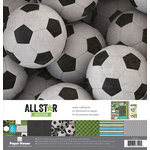 Paper House Productions - All Star Collection - Soccer - 12 x 12 Paper Crafting Kit