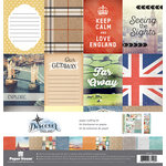 Paper House Productions - Discover Collection - England - 12 x 12 Paper Crafting Kit