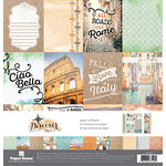 Paper House Productions - Discover Collection - Italy - 12 x 12 Paper Crafting Kit