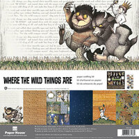 Paper House Productions - Where the Wild Things Are Collection - 12 x 12 Paper Crafting Kit
