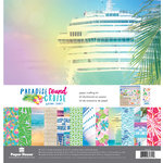 Paper House Productions - Paradise Found Collection - 12 x 12 Paper Crafting Kit - Cruise