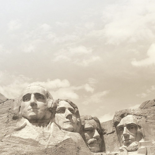 Paper House Productions - South Dakota Collection - 12 x 12 Paper - Mt. Rushmore