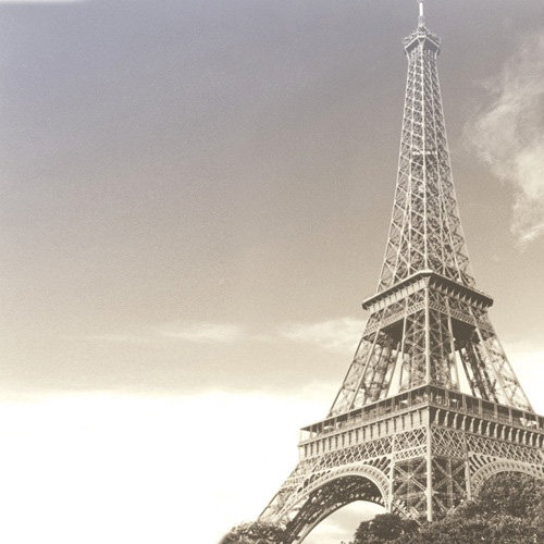 Paper House Productions - Paris Collection - 12 x 12 Paper - Eiffel Tower