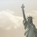 Paper House Productions - New York City Collection - 12 x 12 Paper - Statue of Liberty