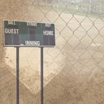 Paper House Productions - Baseball Collection - 12 x 12 Paper - Baseball Collage