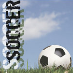 Paper House Productions - Soccer Collection - 12 x 12 Paper - Soccer Sky