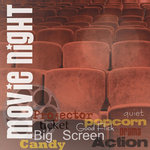 Paper House Productions - Movies Collection - 12 x 12 Paper - Movie Night