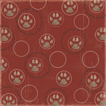 Paper House Productions - Dog Collection - 12 x 12 Paper - Woof