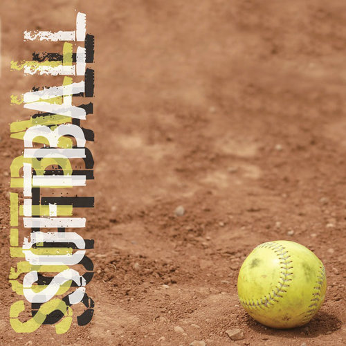 Paper House Productions - Softball Collection - 12 x 12 Paper - Softball