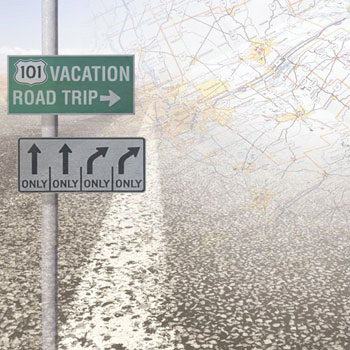 Paper House Productions - Road Trip Collection - 12 x 12 Paper - Road Trip
