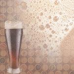 Paper House Productions - Beer Collection - 12 x 12 Paper - Beer Foam