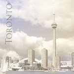 Paper House Productions - Canada Collection - 12 x 12 Paper - Toronto Skyline