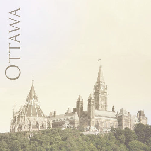 Paper House Productions - Canada Collection - 12 x 12 Paper - Parliament Hill