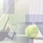 Paper House Productions - Tennis Collection - 12 x 12 Paper - Tennis Collage