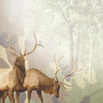 Paper House Productions - Hunting Collection - 12 x 12 Paper - Majestic Elk