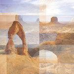 Paper House Productions - Utah Collection - 12 x 12 Paper - Utah Parks Collage