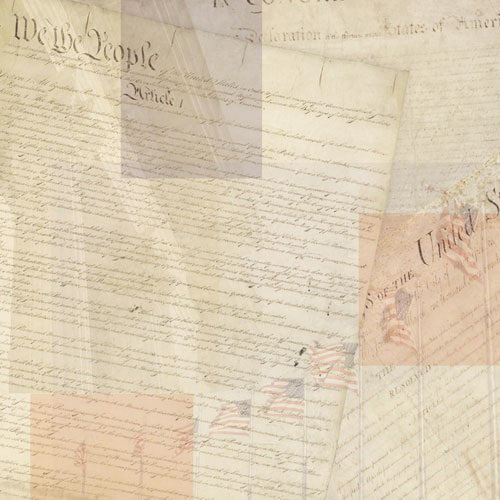 Paper House Productions - Washington DC Collection - 12 x 12 Paper - Charters of Freedom