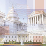 Paper House Productions - Washington DC Collection - 12 x 12 Paper - Branches of Government Collage