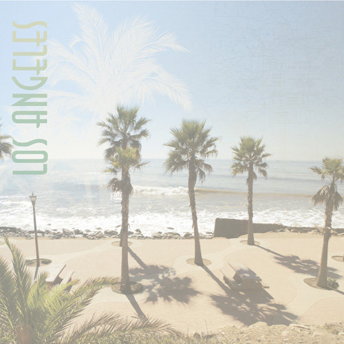 Paper House Productions - Los Angeles Collection - 12 x 12 Paper - Los Angeles Coast