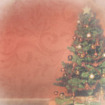 Paper House Productions - Christmas Collection - 12 x 12 Paper - Christmas Tree