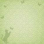 Paper House Productions - Cat Collection - 12 x 12 Paper - Frolic