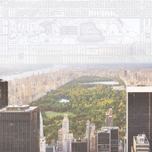 Paper House Productions - New York City Collection - 12 x 12 Paper - Central Park