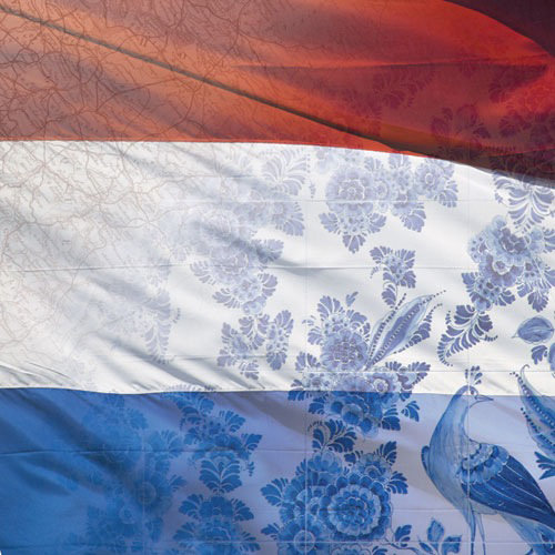 Paper House Productions - Holland Collection - 12 x 12 Paper - Dutch Flag