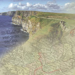 Paper House Productions - Ireland Collection - 12 x 12 Paper - Cliffs of Moher