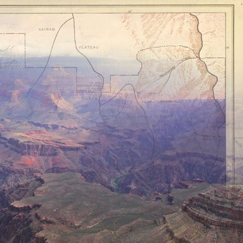 Paper House Productions - Arizona Collection - 12 x 12 Paper - Grand Canyon - Right