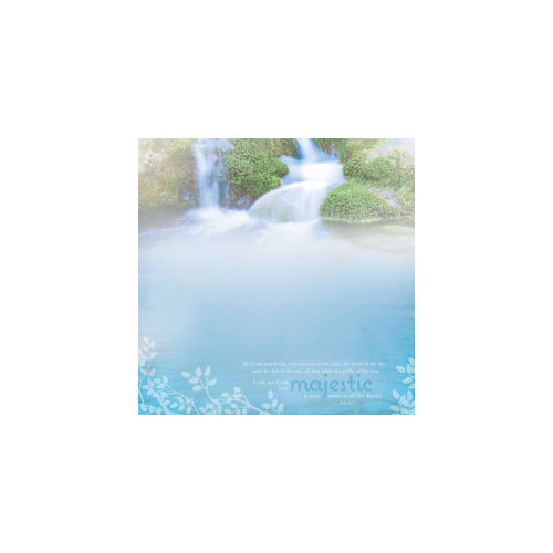 Paper House Productions - Rejoice Collection - 12 x 12 Paper - Majestic