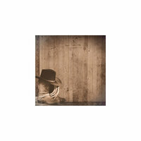 Paper House Productions - Country Star Collection - 12 x 12 Paper - Hat and Boots