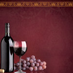 Paper House Productions - Wine and Friends Collection - 12 x 12 Paper - Wine