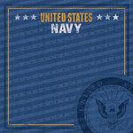 Paper House Productions - 12 x 12 Paper - US Navy Emblem