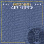 Paper House Productions - 12 x 12 Paper - US Air Force Emblem