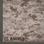 Paper House Productions - 12 x 12 Paper - US Marines Camo