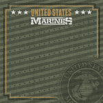 Paper House Productions - 12 x 12 Paper - US Marines Emblem