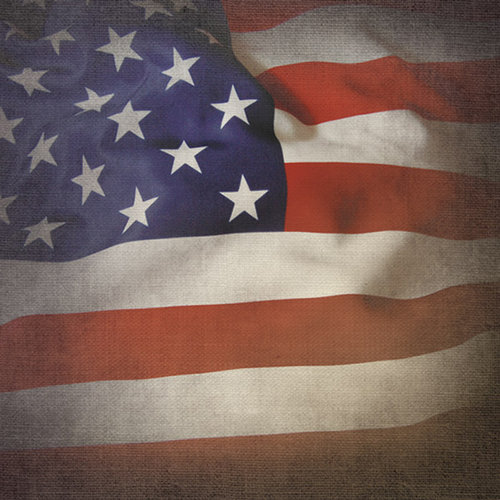 Paper House Productions - 12 x 12 Paper - US Flag