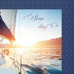 Paper House Productions - Nautical Collection - 12 x 12 Double Sided Paper - Seas the Day