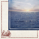 Paper House Productions - Nautical Collection - 12 x 12 Double Sided Paper - Out to Sea