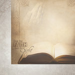 Paper House Productions - Faith Collection - 12 x 12 Double Sided Paper - Holy Bible