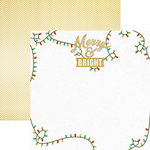 Paper House Productions - Christmas Cheer Collection - 12 x 12 Double Sided Paper - Merry and Bright