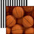 Paper House Productions - All Star Collection - Basketball - 12 x 12 Double Sided Paper - Basketballs