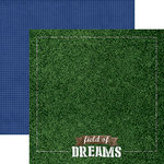 Paper House Productions - All Star Collection - Sports - 12 x 12 Double Sided Paper - Field of Dreams