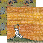Paper House Productions - Where the Wild Things Are Collection - 12 x 12 Double Sided Paper - Max