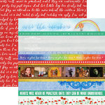 Paper House Productions - Wizard of Oz Collection - 12 x 12 Double Sided Paper - Borders