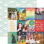 Paper House Productions - Wizard of Oz Collection - 12 x 12 Double Sided Paper - Tags