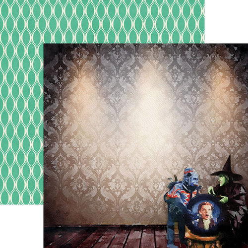 Paper House Productions - Wizard of Oz Collection - 12 x 12 Double Sided Paper - Crystal Ball
